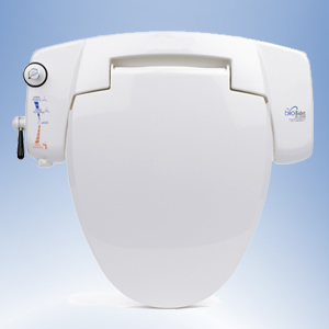 BioBidet 3000 Bidet Seat Attachment with side-panel control
