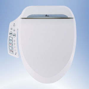 BioBidet 600 Bidet Seat with side-panel control