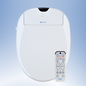 Brondell Swash 1000 Bidet Seat with remote control