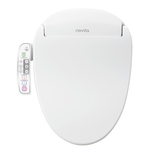 Novita Bidet Seat BN330/BN330S with side-panel control