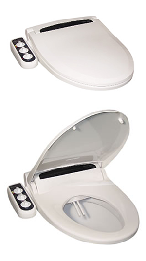 HB-4000 Bidet Attachment with side-panel control